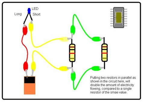 resistors in parallel experiment science for school home