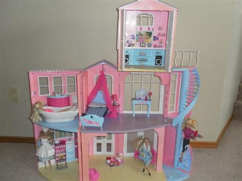 barbie doll house sawgrass mattel barbie dream house images
