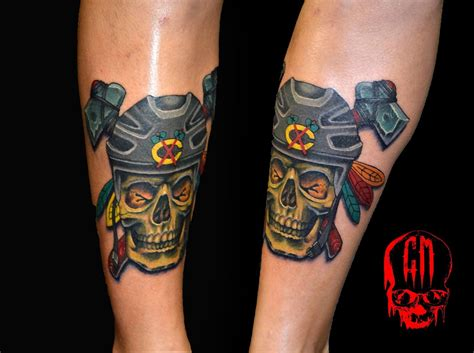 little chicago tattoo top 20 most badass blackhawks tattoos tats