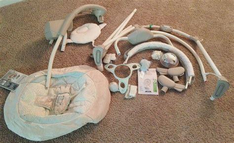ingenuity inlighten cradling swing emerson ingenuity inlighten cradling swing is a great way to keep