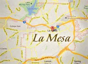 la mesa california map la mesa neighborhood profile