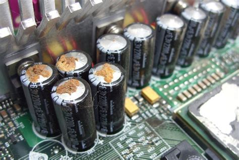 fix leaking capacitor 2013 pc tune up thread windows sluniverse forums