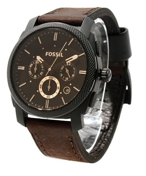 Jam Tangan Fossil 88210 2 fossil fs4656 machine flight brown original bergaransi