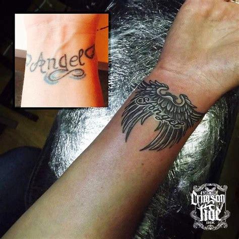 tattoo london angel tattoo wrist ink inkedgirls inked tattooed igorsto
