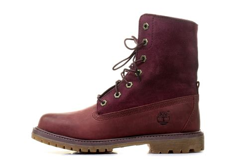 timberland boots authentics suede roll top 8306a bur