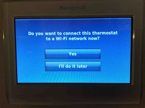 resetting wifi on honeywell thermostat restore factory defaults honeywell smart thermostat