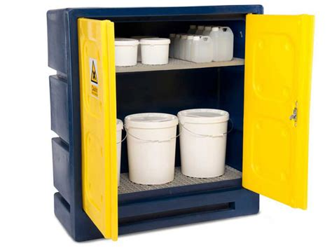 External Cabinet by External Bunded Chemical Storage Safety Storage Systems