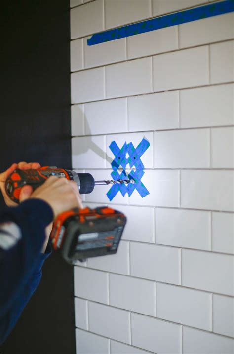 drilling into bathroom tiles how to drill through bathroom tiles 28 images how to install rawl plugs into very