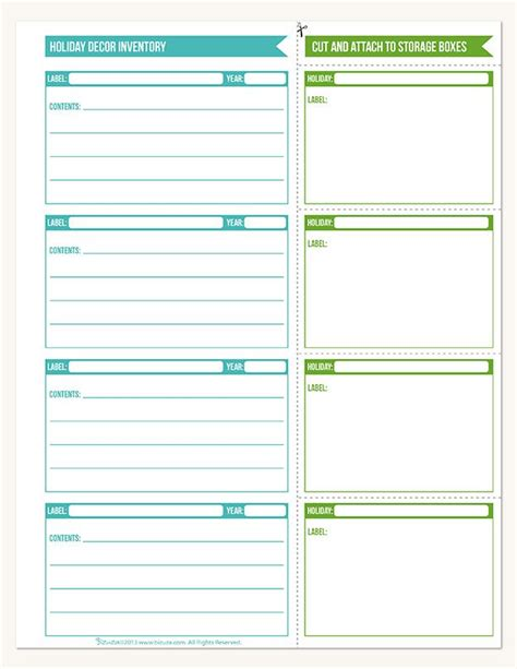 59 Best Bizuza Printables Images On Pinterest Inventory Labels Template