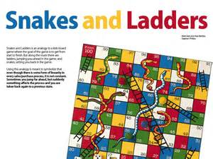 Printable board games snakes and ladders
