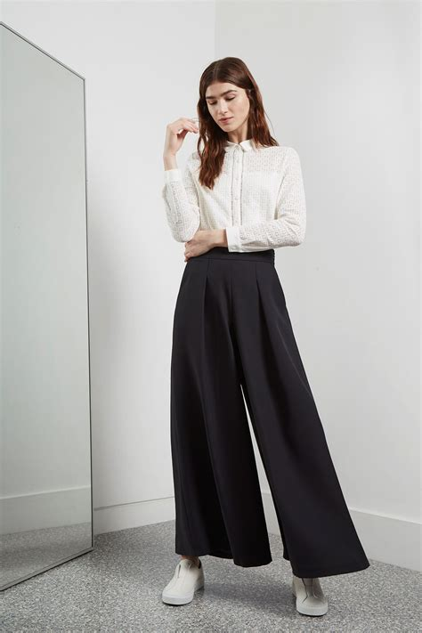 Wide Leg 4 Great Finds For The Look deana crepe wide leg trousers great plains