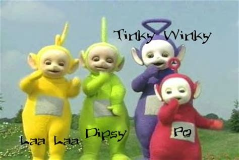 teletubbies names and colors teletubby