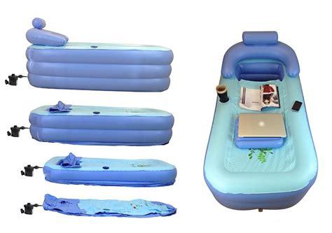 cars inflatable bathtub bathe and work anywhere with this inflatable bathtub