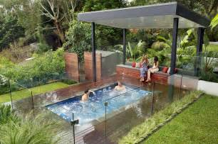 Backyard Spas Modern Nice Design Of The Outdoor Spa Landscaping Ideas