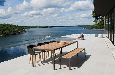 scandinavian outdoor furniture urbane outdoor decor collections inspired by scandinavian