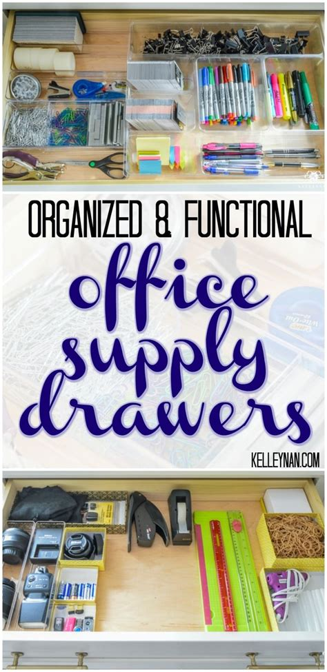 home office desk supplies storage ideas best 25 office supply storage ideas on pinterest