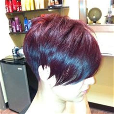haircuts davison michigan growing out the back of stacked bob short hairstyle 2013