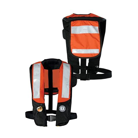 Mustang Auto Life Vest by Mustang Inflatable Life Vest W Auto Hydrostatic Activation
