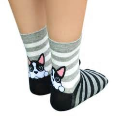 Animal Color Socks Set 3in1 1 socks calcetines mujer fashion 3d print low cut socks cotton animal casual