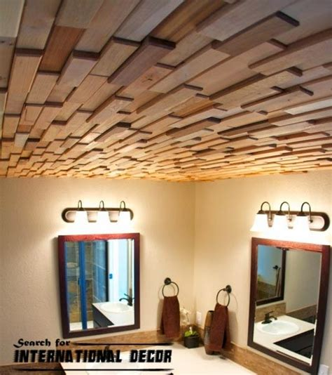 Types Of Drop Ceilings by Decorative Ceiling Tiles With Original Designs And Types
