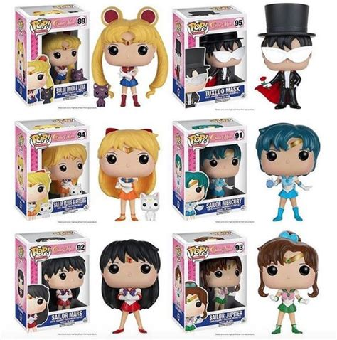 Original Funko Pop Anime Sailor Mercury Vynil Figure new sailor moon pop s are coming from funko words of wisdom pics masks