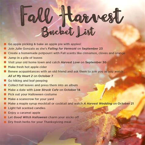 Mail In Sweepstakes List - hallmark channel s fall harvest 500 cash sweepstakes