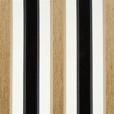 Black And White Upholstery Fabric by Black White Velvet Stripe Upholstery Fabric For Furniture