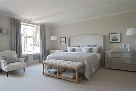 Houzz Bedroom Design Houzz Master Bedroom Bedroom Farmhouse With Countryside Estate Bespoke Upholstered Headboard