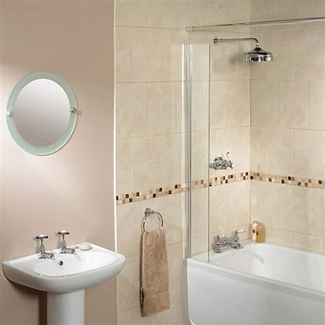 shower curtain splash guard buy aqualux splash guard shower screen john lewis