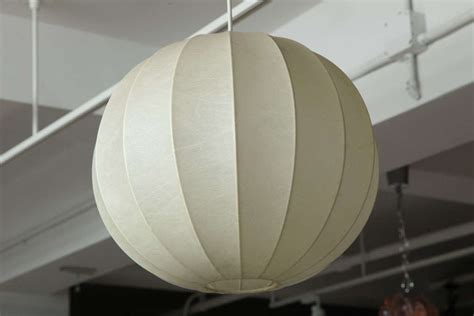 vintage sphere pendant light fixture by achilles