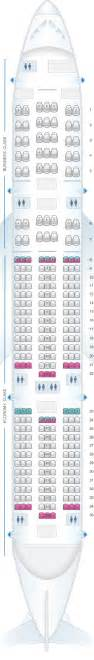 plan de cabine aeromexico boeing b777 200er seatmaestro fr