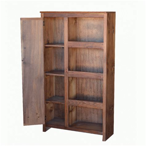farmhouse one door solid wood storage pantry cupboard