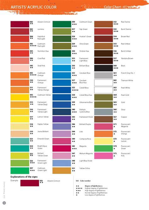 paint colors acrylic