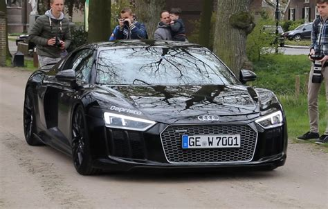 Audi R8 Schwarz by New Audi R8 V10 Plus Black On Black Sound