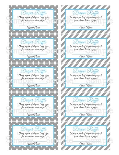 free printable raffle tickets for baby shower free printable diaper raffle tickets for baby shower