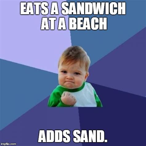 Sandwich Maker Meme - success kid meme imgflip