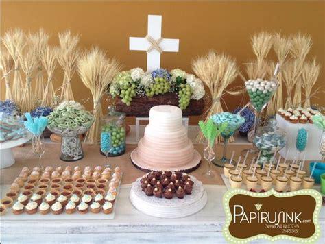 decoracion primera comunion varon mesa de dulces primera comuni 243 n ni 241 o postres decoraci 243 n primera comuni 243 n comuni 243 n dafne