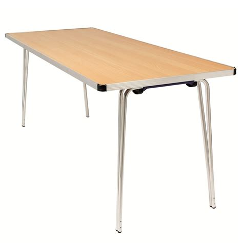 Folding Table by Gopak Contour Folding Tables Rosehill Furniture Shop