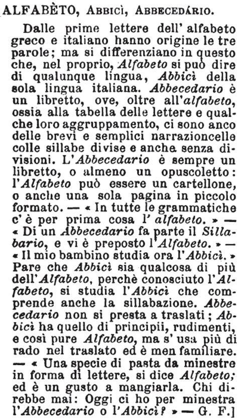 significato delle lettere dell alfabeto alfabeto dizionario significato e curiosit 224