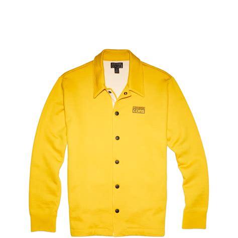 Jaket Jaket Fleece Jaket Converse Turkish converse mens cons waffle coaches fleece jacket yellow bird
