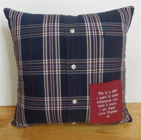 Memory Pillow by Memory Pillow Keepsake Pillow Made With Your Shirt Or