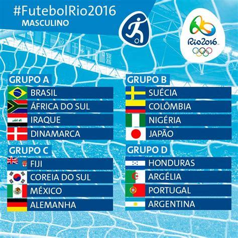 Brasil Jogos Jogos Ol 237 Mpicos Calend 225 Futebol E Guia Tv Plabot