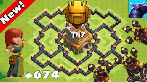 coc base 7th hd image dawnload clash of clans new update th7 farming base 3 air