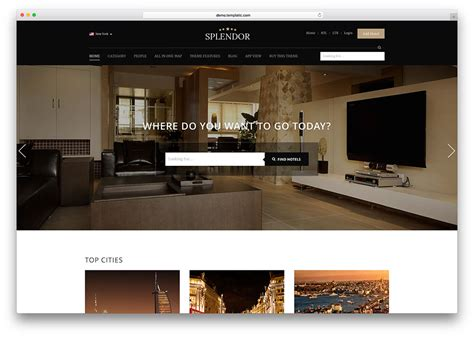 website to design a room 50 best wordpress travel themes for blogs hotels and