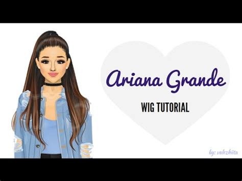 tutorial wig stardoll ariana grande wig tutorial stardesign hair youtube