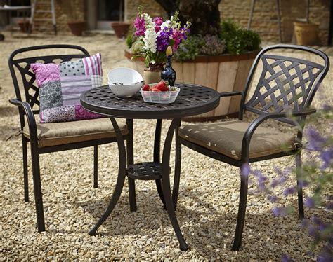 Patio Furniture for Small Spaces Bistro Set Aluminium