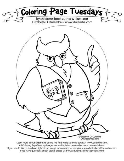 wise owl coloring page coloring page owl az coloring pages