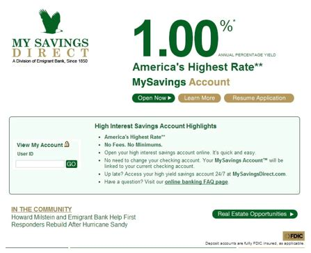 highest interest rate savings average rates on a savings accounts guide the top 10
