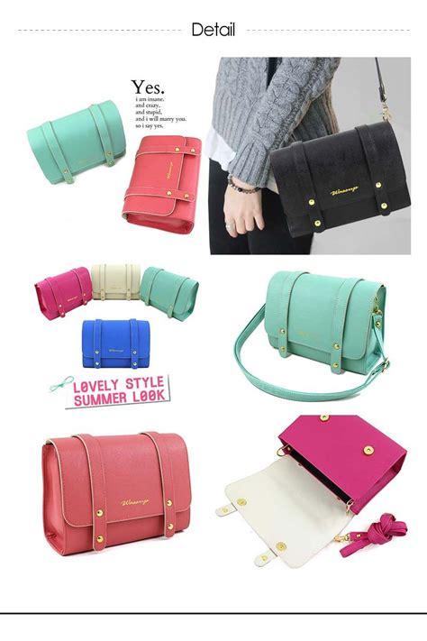 Clutch G Garis tas wanita 10 styles flat price fashion bag harga