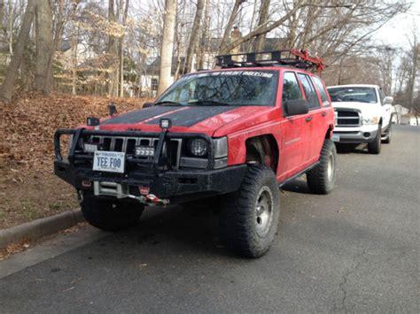 Custom 98 Jeep Grand Lifted Customized Jeep Grand Zj 5 2l V8